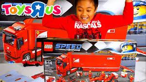 lego ferrari truck toys