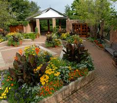 Chicago Botanic Garden Map by U S Central Garden Housecalls
