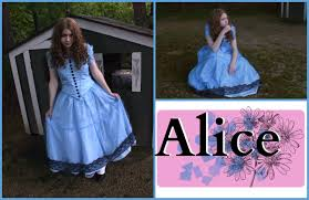 alice in wonderland costume halloween city how to make alice u0027s blue dress costume alice in wonderland alice