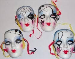 mardi gras wall masks mardi gras porcelain masks wall ins pired mask ceramic masks