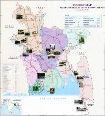 Map Of Bangladesh Tourist Map Bangladesh Information Of Bangladesh