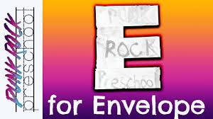 letter e for envelope fun preschool crafts for kids best