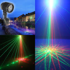 Outdoor Laser Lights Outdoor Waterproof Laser L Color Laser Lights