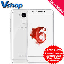 white rom android aliexpress buy original doogee y6 piano white 4g mobile
