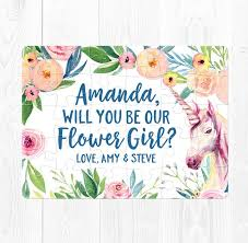 will you be my flower girl gifts etsy flower girl card will you be my flower girl gift