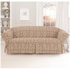 sleeper sofa slip cover sure fit middleton sofa slipcover 581237 furniture covers at