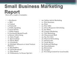 Marketing Reports Exles by Small Business Marketing Report 24 728 Jpg Cb 1296465908