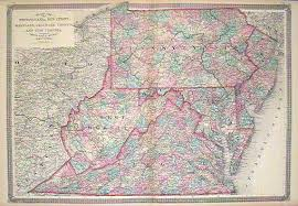 map of maryland delaware and new jersey map of pennsylvania new jersey maryland delaware virginia and