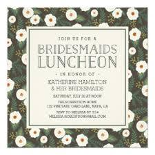 luncheon invitations bridesmaid luncheon invitations announcements zazzle