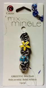 pandora style bead necklace images Cousin mix mingle beads 5 metal pandora style jpg