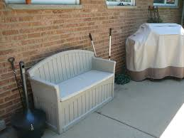 Suncast Patio Storage Bench December 2013 Outdoor Furniture Products