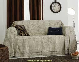 jeté de canapé en elégant jeté canapé grande taille artsvette
