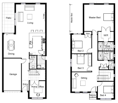 Plantation Style Home Plans House Plans 2 Storey House Plans For Narrow Blocks Low Country