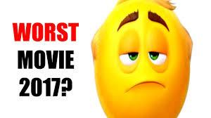 the emoji movie worst film of 2017 youtube