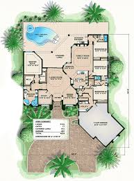 split bedroom plan 66371we split bedroom florida house plan florida house
