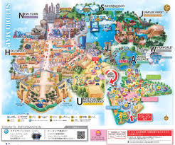 Universal Orlando Maps by Your Guide To Universal Studios Japan Backpackerlee Usj Universal