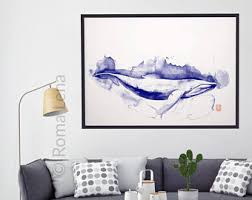 Whale Bathroom Accessories by Whale Illustration Etsy