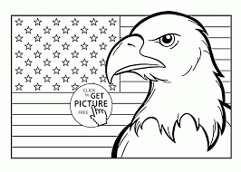 printable coloring page usa