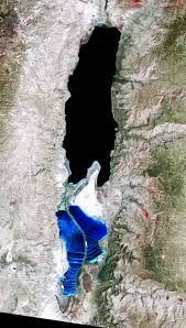 Map Of The Dead The Dead Sea Image Of The Day