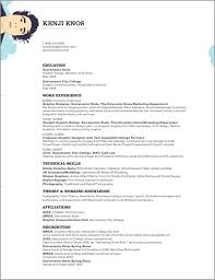Show Examples Of Resumes by 27 Examples Of Impressive Resume Cv Designs Dzineblog Com