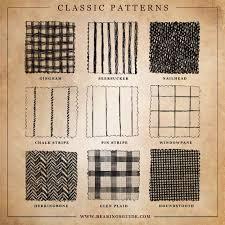 check vs plaid classic patterns gingham seersucker nailhead chalk stripe pin