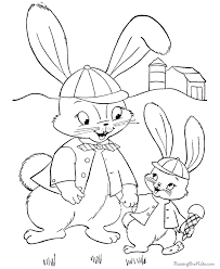 easter bunny color 011