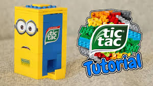 where to buy minion tic tacs how to build a lego minion tic tac candy machine