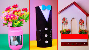 easy crafts for home decor diy room decor 3 easy crafts ideas at home youtube