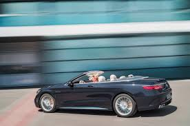 mercedes amg convertible official 2018 mercedes amg s63 and s65 coupe cabriolet facelift
