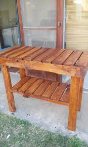Kitchen Island Or Table by Pallet Kitchen Island Or End Table
