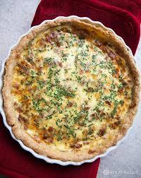 cuisine quiche lorraine quiche lorraine recipe simplyrecipes com