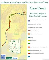 Mesa College Map Cave Creek Ecosystem Iba Arizona Important Bird Areas Program