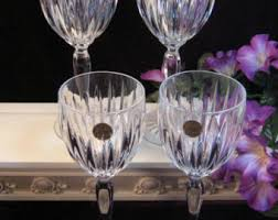 Fine Crystal Lead Crystal Goblets Etsy