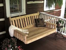 cedar traditional english swing bed by dutchcrafters amish furniture