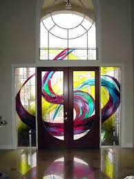 Front Door Glass Designs 48 Best Entryway Stained Glass Images On Pinterest Entryway