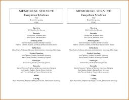 program for funeral service sle funeral program memorial service programs templates free
