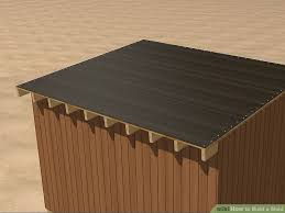 How To Build A Simple Storage Shed by How To Build A Shed 9 Steps With Pictures Wikihow