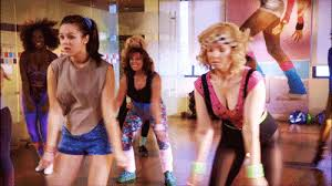 bev erica and thanksgiving bet jazzercise the goldbergs