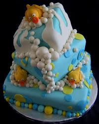 unique baby shower cakes baby shower topsy turvy yellow duck cake richmond ky the
