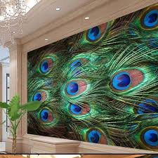 aliexpress com buy south asian wallpaper murals peacock feature aliexpress com buy south asian wallpaper murals peacock feature for living room bedroom shop office wall papers home decor 3d wall murals from reliable