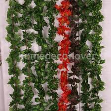 aliexpress com buy 5pcs 7 8ft artificial grape leaf garland