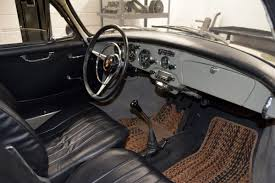 vintage porsche interior 1963 porsche 356 b t6 coupe finished in stone grey with black