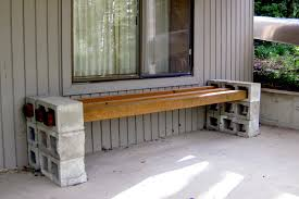 backyard bench plans home outdoor decoration