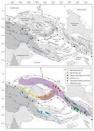 Plate Boundaries Map Tectonic Setting Of Papua New Guinea And Solomon Islands A