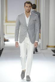 how to wear a grey blazer with white pants men u0027s fashion