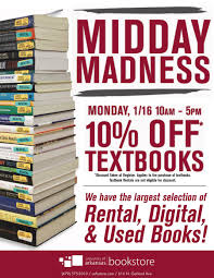 Uofa Map Midday Madness Textbook Sale On Monday Jan 16 At U Of A