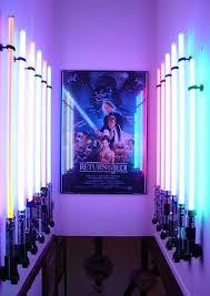 Lightsaber Bedroom Light World S Coolest Wars Room Techeblog Teagans Room