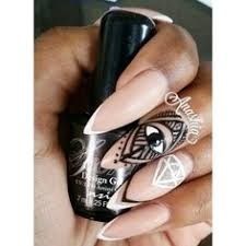 hazel dixon denise wright create stunning stiletto nails using