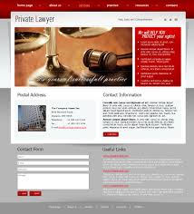 private lawyer html template id 300110402 from simavera com