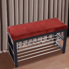 Shoe Storage Bench With Seat Storage Bench Outdoor Shoe Patio Entryway Ebay